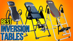 10 best inversion tables 2016 youtube
