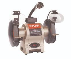 ryobi bench grinder 250 watt with light and wheel dresser