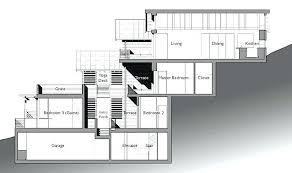 hillside floor plans hillside house design hillside house plans with walkout basement