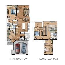 colored house floor plans multi family large house floor plans