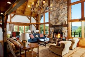 lodge style home interiors house design plans
