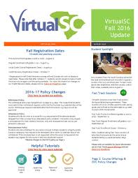 online pe class high school fall 2016 updates virtualsc