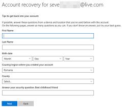 reset microsoft online services password how to reset the password for your microsoft outlook or xbox