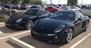 cayman porsche black old and new cayman side by side philip ganderton