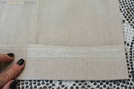 How To Sew Curtains With Grommets Making Panel Curtains With Grommets Memsaheb Net