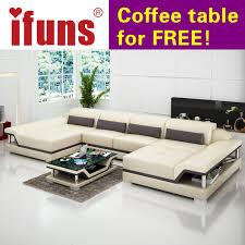 canapé de qualité pas cher ifuns u en forme de noir canapé pas cher design moderne sofa