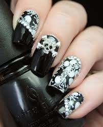 day of the dead nail art stickers nail art ideas