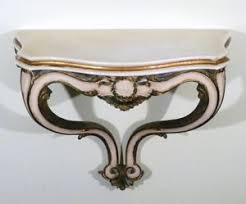 Italian Console Table Italian Demi Lune Console Carved Gold Gilt Wall Hung Console Table