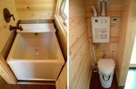 Tiny House Bathrooms Parks Perfect Retreat Tiny Bathroom And