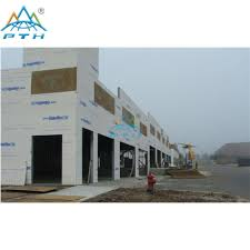 prefab modular steel structure building project for warehouse