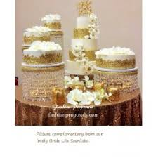 search tag weeding crystal cake stands bases de cristal para
