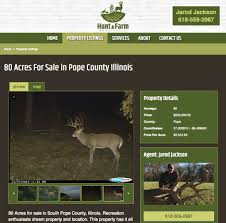 hunting land web design farm recreation ranch land for sale