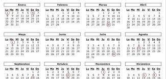 Calendario Diciembre 2018 Calendario Laboral El Diario Montañes
