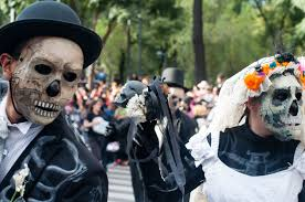 halloween in mexico city