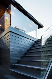 Exterior Stair Railing by Best 25 Exterior Stairs Ideas On Pinterest Contemporary