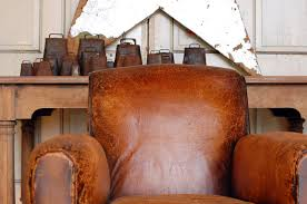 Orange Leather Chair Leather Chair Styles