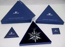 Swarovski Christmas Ornaments 2011 Annual Star Collection by Swarovski Christmas Ornament Ebay