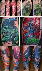 marvel superhero 3d tattoo designs u2013 truetattoos