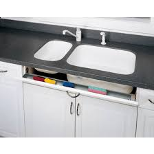 kitchen sink cabinet tray cabinet organizers slim sink front tip out trays for