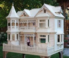 Small Victorian Homes by 04 Fs 152 Victorian Barbie Doll House Woodworking Plan