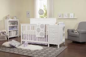 4 In 1 Crib With Changing Table Autumn 4 In 1 Crib U0026 Changer Combo Davinci Baby