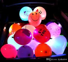 wholesale led lights colorful lights balloons weddings