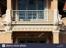 neoclassical plaster cast and wrought ironwork ornaments on
