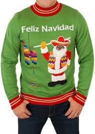santa sweater s feliz navidad hispanic santa sweater festified