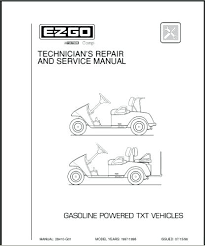 repair manual electric fleet freedom 2006 ez go golf cart service