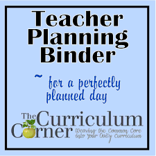 Blank Curriculum Map by Teacher Planning Binder The Curriculum Corner 123