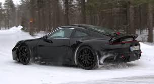 generation porsche 911 generation porsche 911 spied winter testing