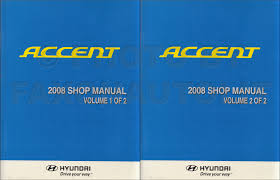 2008 hyundai accent electrical troubleshooting manual original