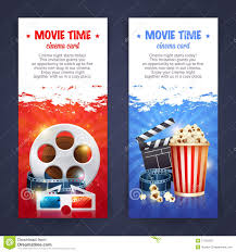 realistic cinema movie poster template stock vector image 57129225