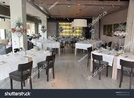 Restaurant Decoration Beautiful Flowers Decoration Restaurant Stock Photo 556255774