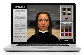 hair color simulator beauty and wellness education sim