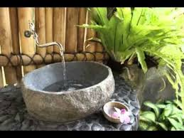 Balinese Bathroom Design YouTube - Bali bathroom design