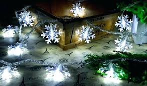 snowflake string of lights led snowflake string lights fatetofatal com