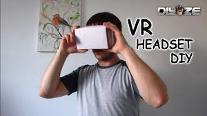How To Make I How To Make Vr Headset At Home Using Household Items Youtube