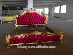 latest indian purple bed design solid wooden double bed designs