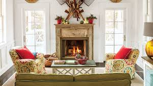 Smart Cottage Style Home Southern Living - Interior decoration of living room