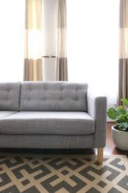 Grey Sofa Ikea Tufted Heather Grey Karlstad Sofa Must Check Out This Great Ikea