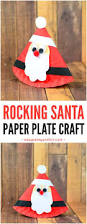 rocking paper plate santa easy peasy and fun