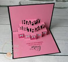 prairie paper u0026 ink concord u0026 9th happy birthday pop up card