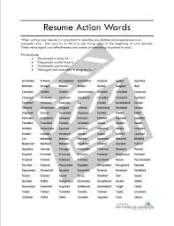Words To Use In Resumes Resume Cv Cover Letter Visit Wheaton Cover Letter Verbs Resumes