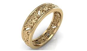 womens gold wedding bands gold wedding rings for women mindyourbiz us