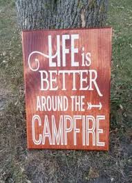 Camping Decorations Friends And Marshmallows Get Toatsed Barn Board Sign For Your