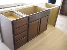 kitchen islands with sink and dishwasher mahogany wood unfinished amesbury door kitchen island with