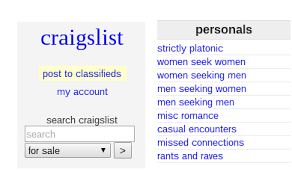 Seeking On Craigslist Casual Encounters On Craigslist Could Land You An Std Or Two