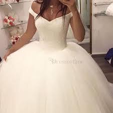 sequined wedding dress chic gown the shoulder floor length wedding dress