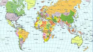 World Map Caribbean by World Map